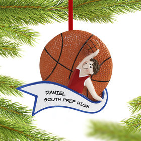 Basketball Male Ornament