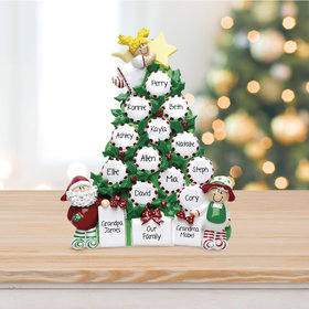 Peppermint Tree Up To 15 Table Decoration Ornament