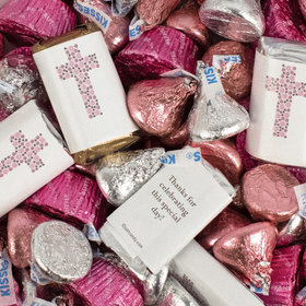 Religious Hershey's Miniatures, Kisses and JC Peanut Butter Cups (3 lb. Bag)