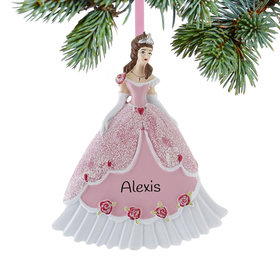Princess in Pink Ball Gown Ornament