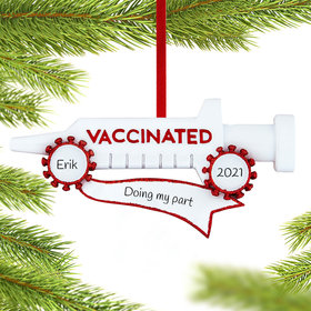 Vaccinated Ornament