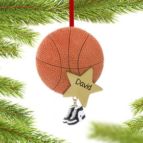 Basketball Star with Sneakers Ornament