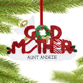 God Mother Letters Ornament