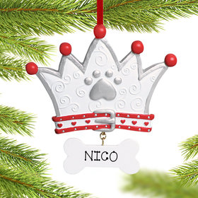 Dog Crown Ornament