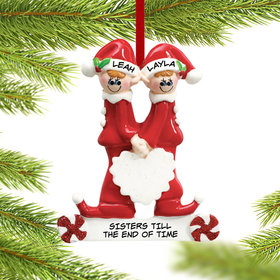Close Sisters or Friends Ornament