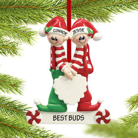 Close Brothers or Friends Ornament