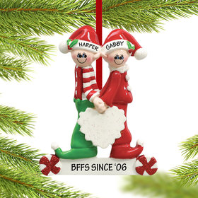 Close Brother and Sister or Friends Ornament