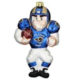 St. Louis Rams Football Player Ornament