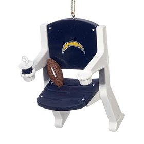 San Diego Chargers Stadium Seat Ornament