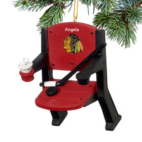 Chicago Blackhawks Stadium Seat Ornament