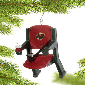 Minnesota Wild Stadium Seat Ornament