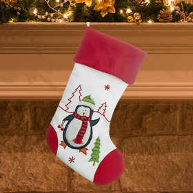 Red and White Stocking (Penguin)