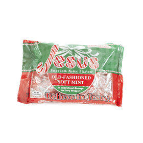 Jesus Sweetest Name I Know Old Fashioned Soft Mints - Scripture Candy