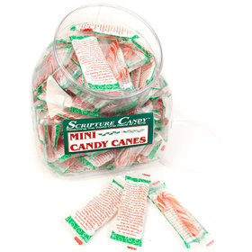 Mini Candy Canes - Scripture Candy