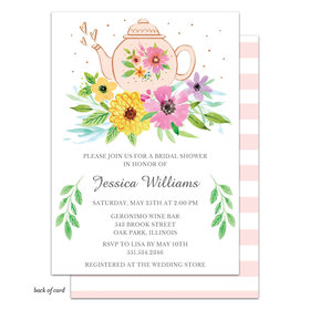 Bonnie Marcus Collection Personalized Sweet Tea Bridal Shower Invitation