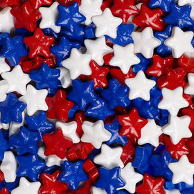 Sweet Shapes Red, White, & Blue Stars