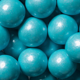 Powder Blue Shimmer 1-inch Gumballs