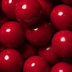Red 1-inch Gumballs