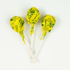 Lemon Tootsie Roll Pops