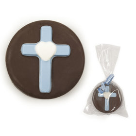 Milk Chocolate Covered OREO Cookie with Blue Cross (12 Pack)