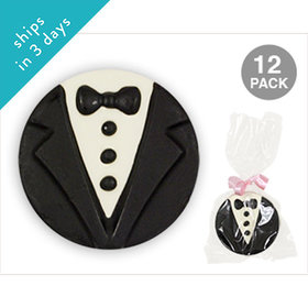 Groom Chocolate Covered OREO Cookies (12 Pack)