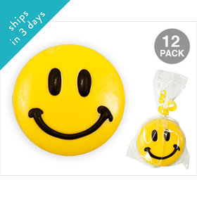 Smiley Face Chocolate Covered OREO Cookies (12 Pack)