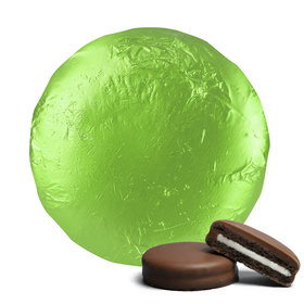 Belgian Chocolate Covered Oreo Cookies Lime Green (24 Pack)