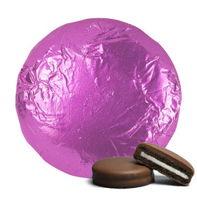 Belgian Chocolate Covered Oreo Cookies Fuchsia (24 Pack)