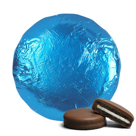 Belgian Chocolate Covered Oreo Cookies Blue (24 Pack)
