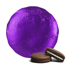 Belgian Chocolate Covered Oreo Cookies Purple (24 Pack)