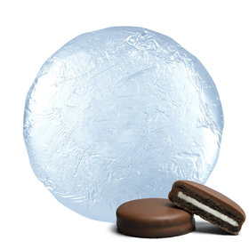 Belgian Chocolate Covered Oreo Cookies Light Blue (24 Pack)