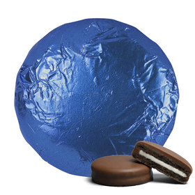Belgian Chocolate Covered Oreo Cookies Royal Blue (24 Pack)