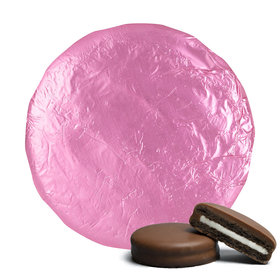 Belgian Chocolate Covered Oreo Cookies Light Pink (24 Pack)