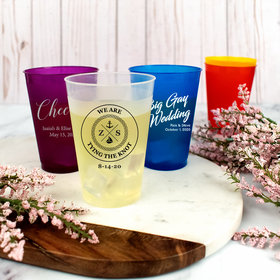 Personalized Wedding 12oz Shatterproof Cup