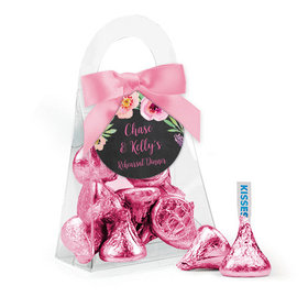 Personalized Rehearsal Dinner Favor Assembled Purse with Hershey's Kisses