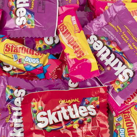 Skittles & Starburst Valentine Exchange - Fun Size Packs