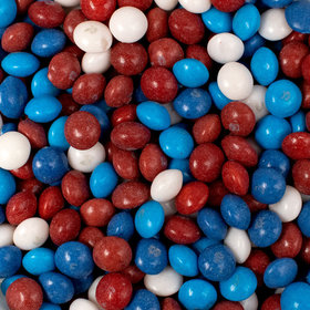 Patriotic Red, White & Blue Skittles