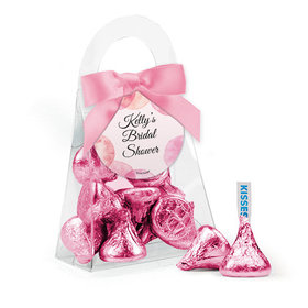 Personalized Bridal Shower Favor Assembled Purse with Hershey's Kisses