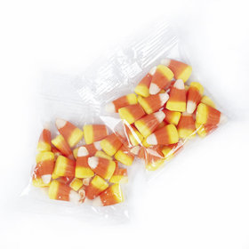 Individually Wrapped Candy Corn Treat Packs - 17 lb Case Approx 250 Bags